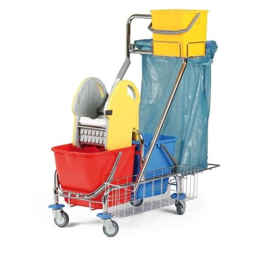 Upratovací vozík pomôže pri upratovaní